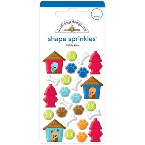 doodlebug sprinkles doodlebug sprinkle shapes puppy play