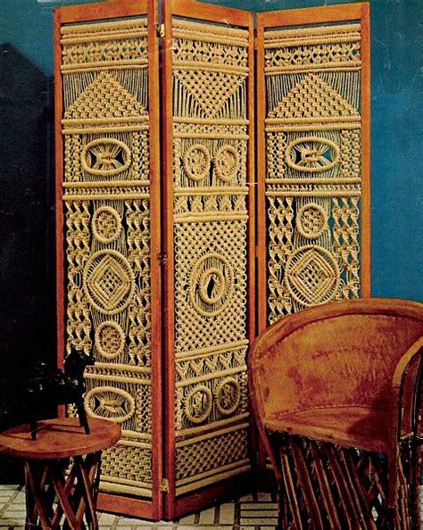 Macrame Room Divider Macrame