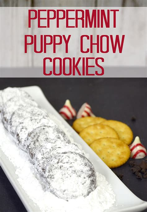 peppermint puppy chow peppermint puppy chow cookies
