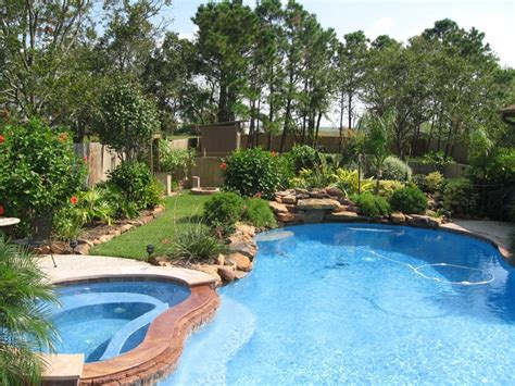 landscaping around a pool plants that require more water