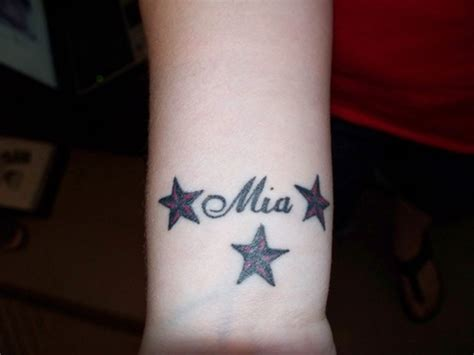 tattoo name designs with stars 35 stunning name wrist designs
