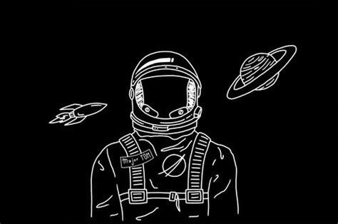 astronaut drawing tumblr
