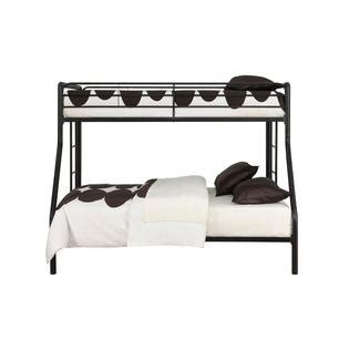 kmart bunk bed essential home black twin over full metal bunk bed