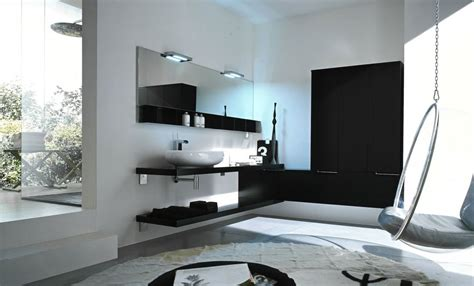 Modern Black And White Bathroom Top Design Black And White Modern Bathroom Interior Design Ideas