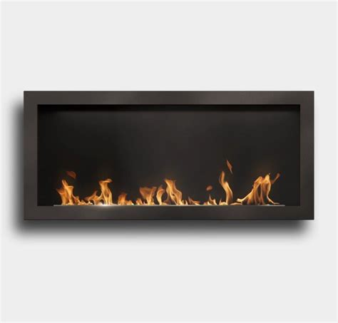 Bioethanol Fireplace Insert by Slimline Insert Bioethanol Fireplace