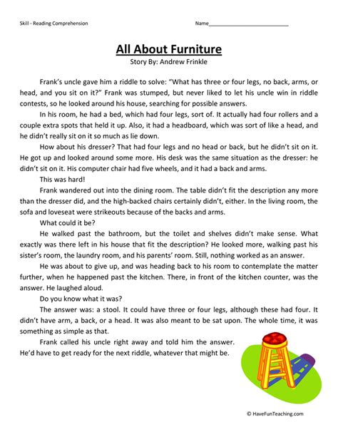 website for reading third grade test practice teaching