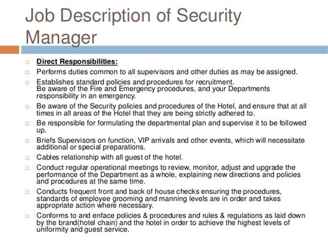 Security Site Manager by Hotel Security