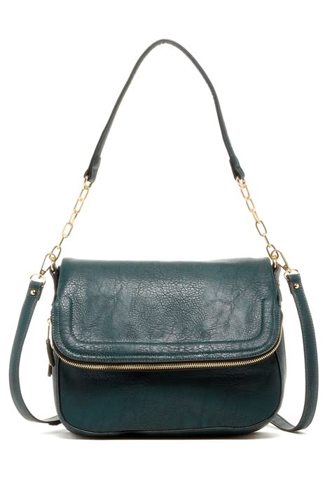 Sportsgirls Teal Tapestry Clutch Bag by Expressions Maisy Vegan Leather Shoulder Bag