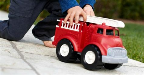 Up to 65% Off Green Toys Fire Truck, Dish Set, Airplane