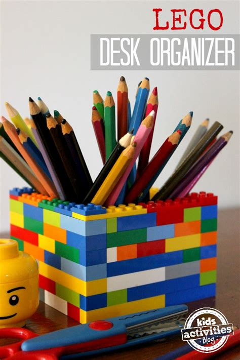 How To Make A Desk Organizer 37 Diy Lego Projects Your Can Build