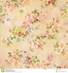 shabby chic vintage antique rose floral wallpaper royalty free stock photos image 24855938