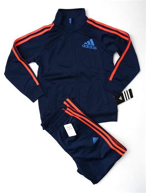 Set Adidas Fd adidas boy s tracksuit kid s tricot jacket set size 7 new adidas adidas