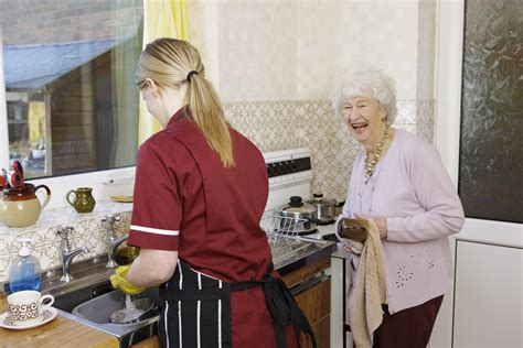 homemaker services elderly disabled services