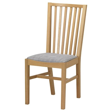 ikea kitchen chairs norrn 196 s chair oak isunda grey ikea