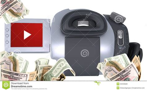 Make Money Uploading Pictures Online - video camera make money royalty free stock photos image 33433628