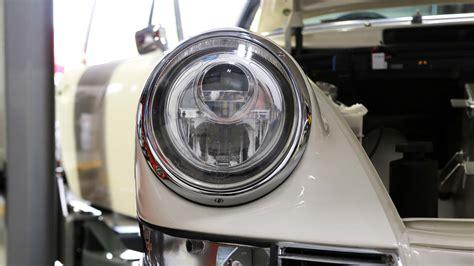 porsche headlights at 911 headlights rpm lumetechnik led headlight conversion