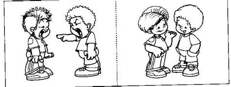 imagenes para colorear respeto dibujos para colorear sobre el respeto a los demas