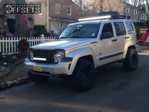 2009 Jeep Liberty Lifted Wheel Offset 2009 Jeep Liberty Aggressive 1 Outside Fender
