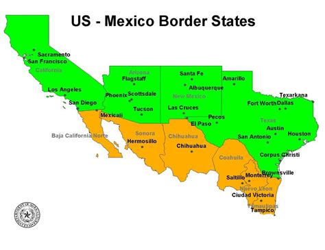 states that border texas map articles for mind soul summit meeting of bishops from texas and mexican border states