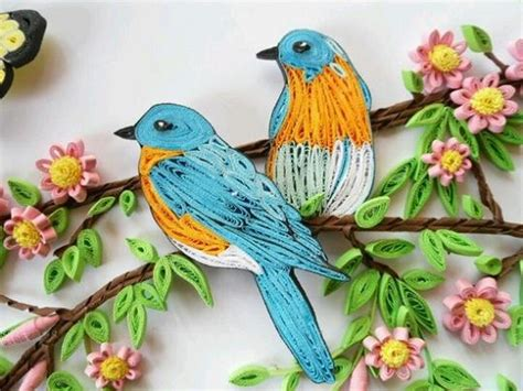 paper quilling birds tutorial amazing paper quilling patterns and designs life chilli
