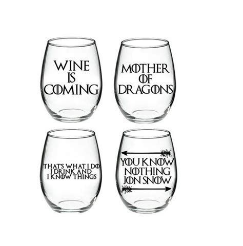 game of thrones wine glasses 10 ideas about game of thrones wine on pinterest game
