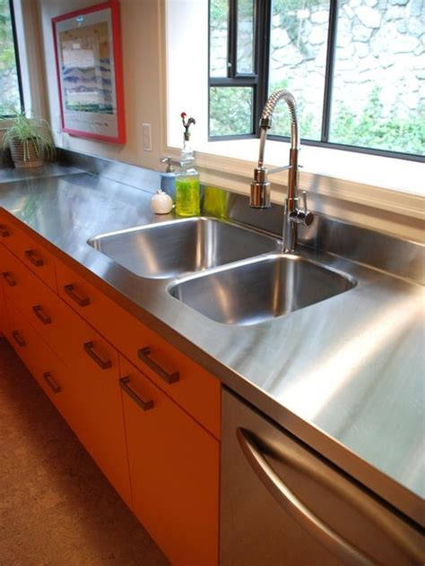 commercial stainless steel sink and countertop stainless steel countertops always the best choice in