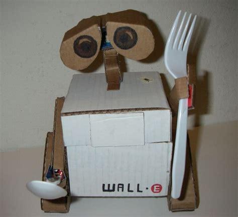 cardboard wall e