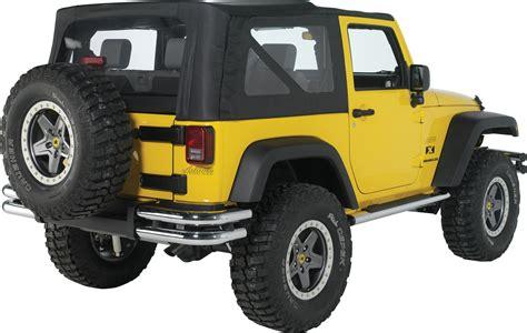 Jeep Back Bumper Mopar 174 82209913 Tubular Rear Bumper In Chrome For 07 17