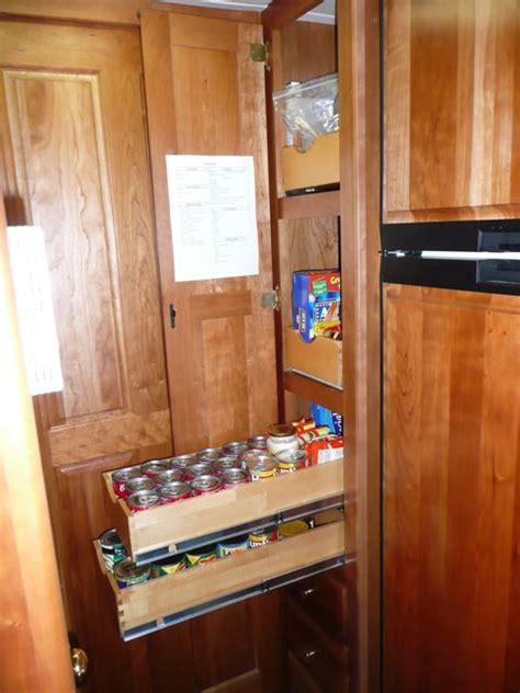 Rv Pantry Storage by 17 Best Images About Rv Kitchen Ideas On
