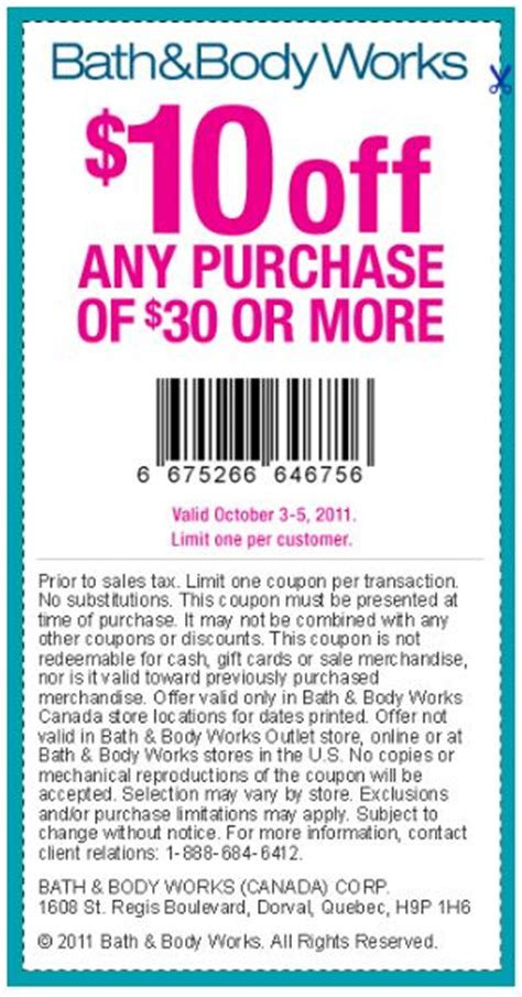 justice coupons 40 off printable 2012 bath bodyworks canada printable coupons 10 off 30 or