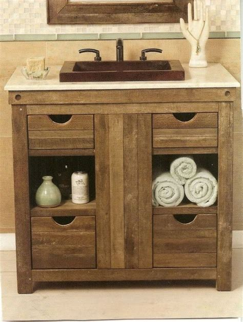 Rustic Bathroom Vanity Ideas by 17 Best Ideas About Rustic Bathroom Vanities On