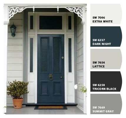 front door paint colors sherwin williams paint colors from chip it by sherwin williams front