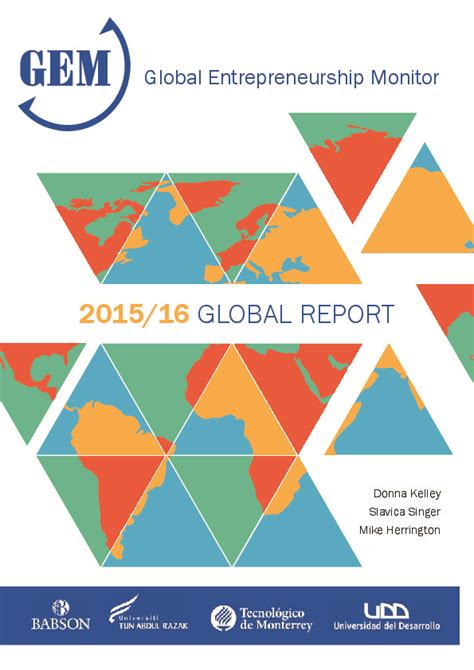 gem global entrepreneurship monitor