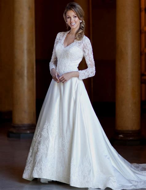 wedding gowns with sleeves gorgeous wedding dresses with sleeves naf dresses