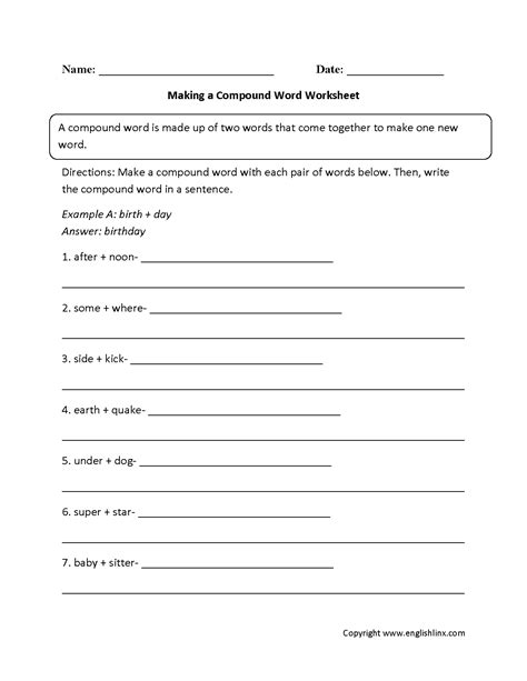 christmas compound words worksheet compound words worksheets for year 2 worksheet exle