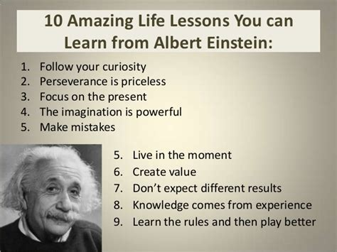 biography albert einstein ppt 10 amazing life lessons you can learn from albert einstein