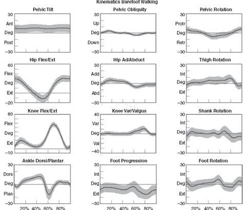 pattern analysis kinematics quantitative assessment of gait a systematic approach