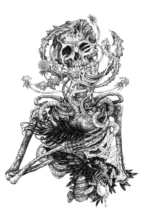 Drawings of life and death by Shaun Beaudry - Bleaq
