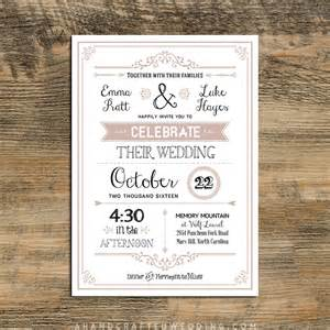 rustic wedding invite template rustic invitations template printable templates free