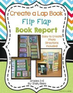 alternative book report ideas book report flip flap book an interactive book