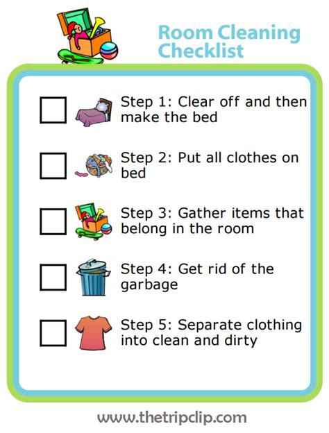 how to teach your child to clean any bedroom in 10 minutes - 10 Steps To Clean Your Room