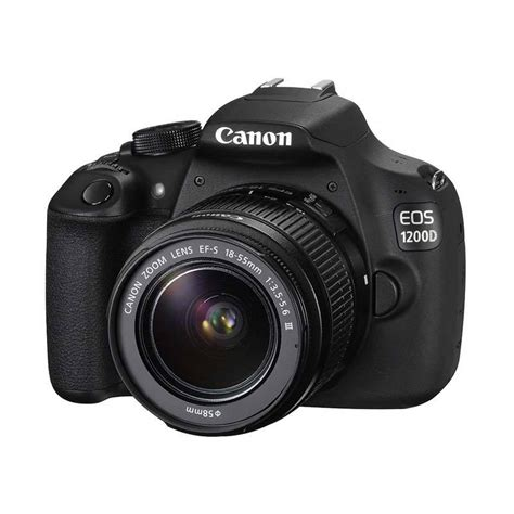 Flash Kamera Canon 1200d jual canon eos 1200d kamera kit 18 55mm is ii hitam
