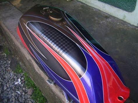 tangki yamaha rx king airbrush grafis