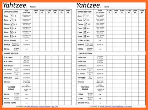printable triple yahtzee score sheets pdf yahtzee score sheets pdf soap format