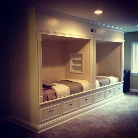built in bed built in beds cz woodworking