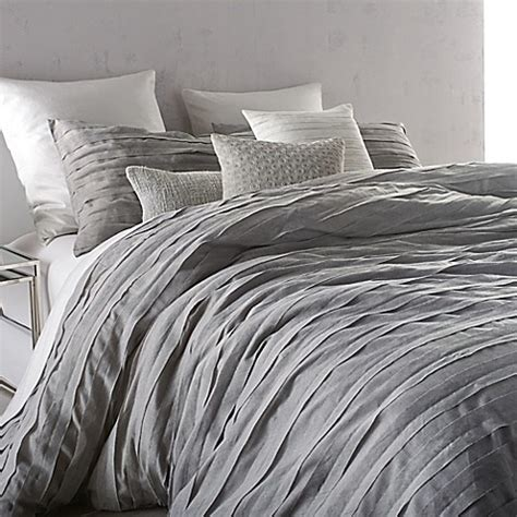 California King Duvet Cover Set Buy Dkny Loft Stripe King Comforter Set In Grey From Bed