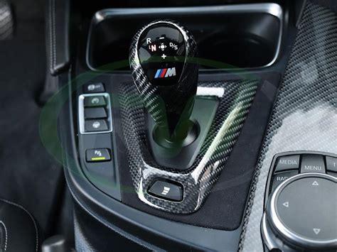 Carbon Fiber Shift by Carbon Fiber Alcantara Shift Console Trim Bmw F80 M3 F82