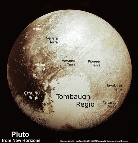 new images of pluto scientists assemble fresh global map of pluto comprising