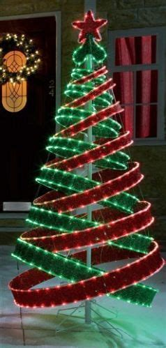led spiral outdoor christmas trees 4ft outdoor green pre lit pop up spiral tree led lights spiral tree