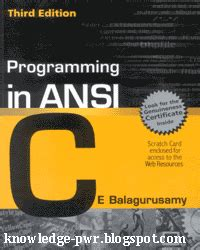 apprentice third edition beginning programming with 4 books knowledge is power free programming in ansi c